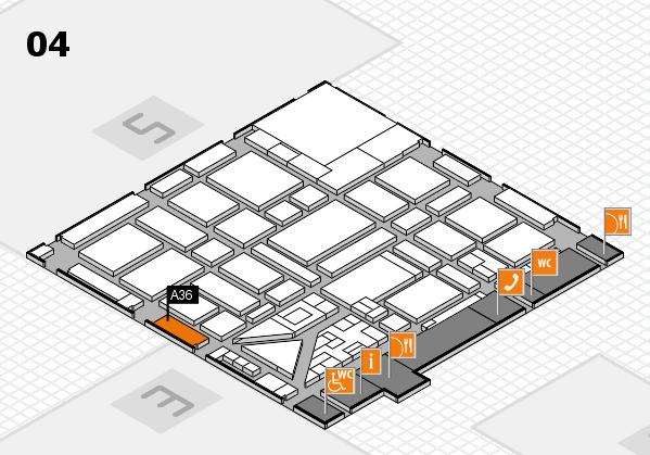 boot 2018 hall map (Hall 4): stand A36