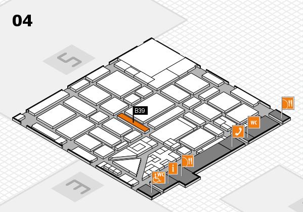 boot 2018 hall map (Hall 4): stand B39