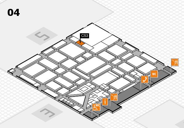 boot 2018 hall map (Hall 4): stand C53