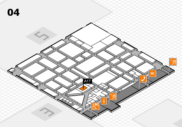boot 2018 hall map (Hall 4): stand A17