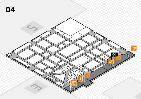 boot 2018 hall map (Hall 4): stand C01
