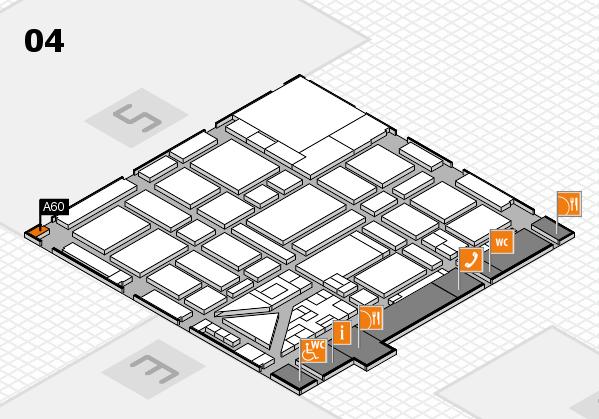 boot 2018 hall map (Hall 4): stand A60