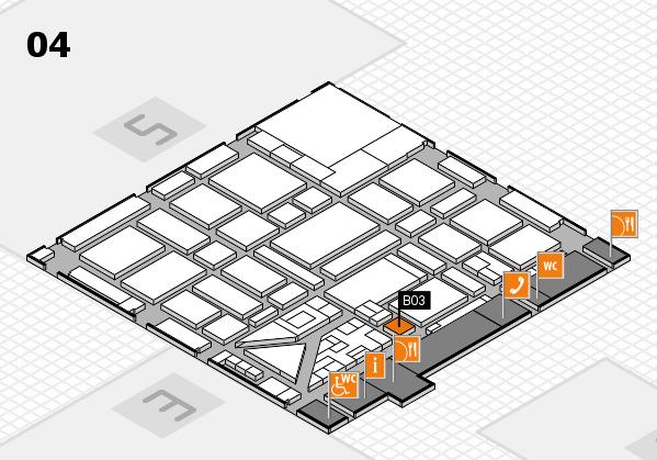 boot 2018 hall map (Hall 4): stand B03