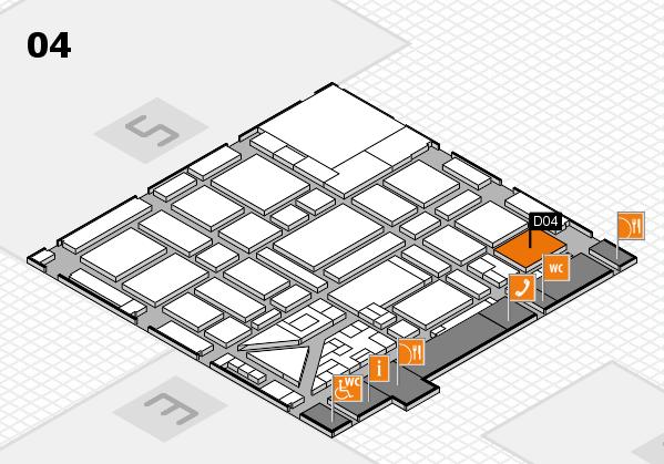 boot 2018 hall map (Hall 4): stand D04