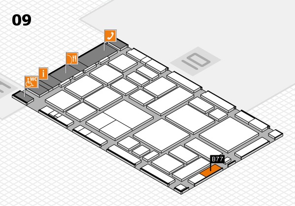 boot 2018 hall map (Hall 4): stand A23.2