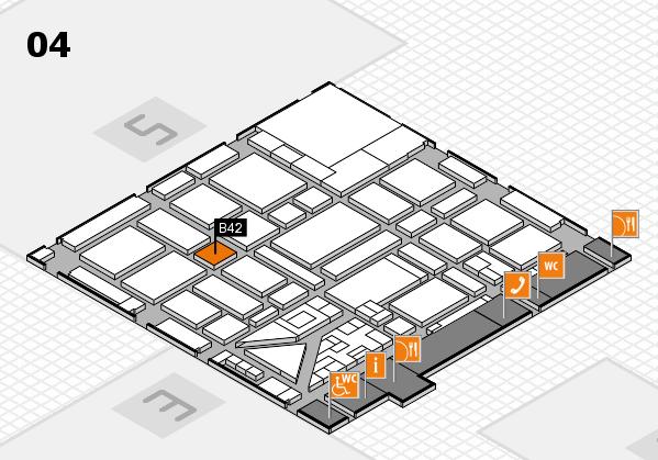 boot 2018 hall map (Hall 4): stand B42
