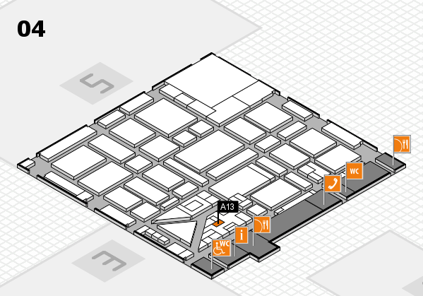 boot 2018 hall map (Hall 4): stand A13