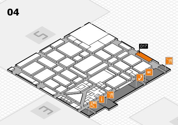 boot 2018 hall map (Hall 4): stand D17