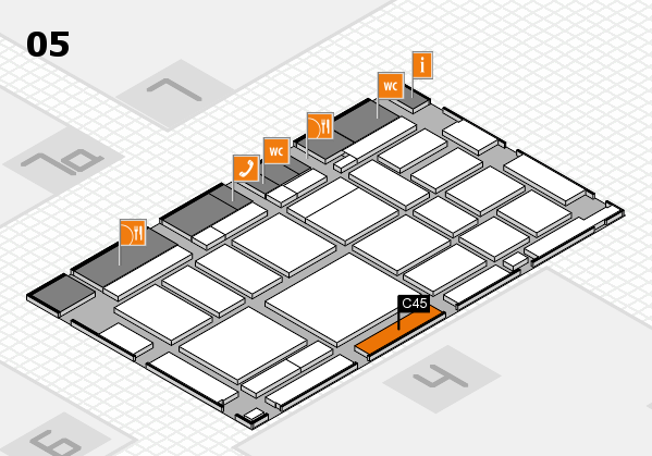 boot 2018 Hallenplan (Halle 5): Stand C45