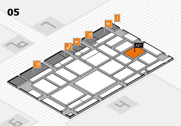 boot 2018 Hallenplan (Halle 5): Stand A21