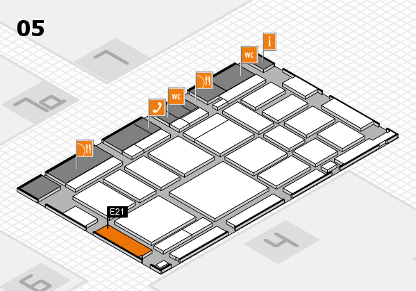 boot 2018 Hallenplan (Halle 5): Stand E21