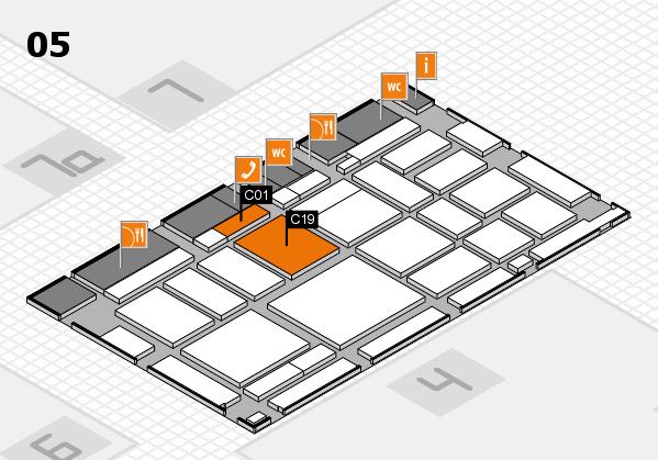 boot 2018 Hallenplan (Halle 5): Stand C01, Stand C19