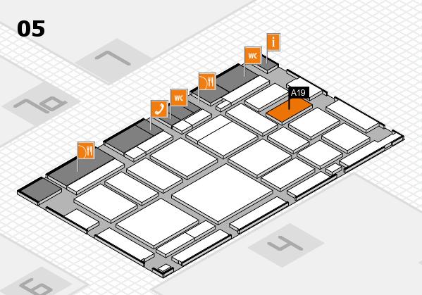 boot 2018 Hallenplan (Halle 5): Stand A19