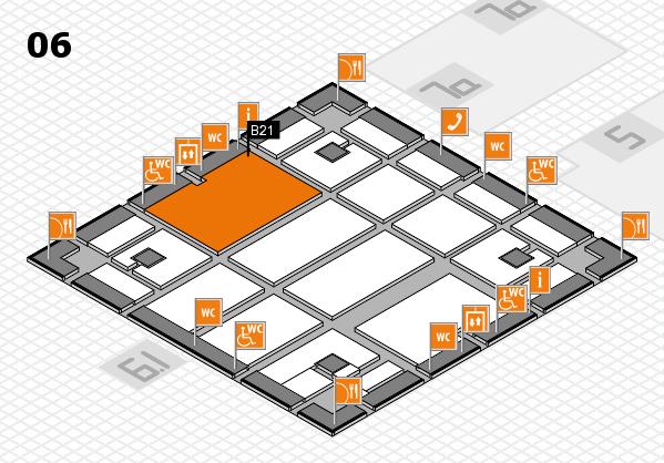 boot 2018 hall map (Hall 6): stand B21