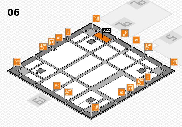 boot 2018 hall map (Hall 6): stand A22