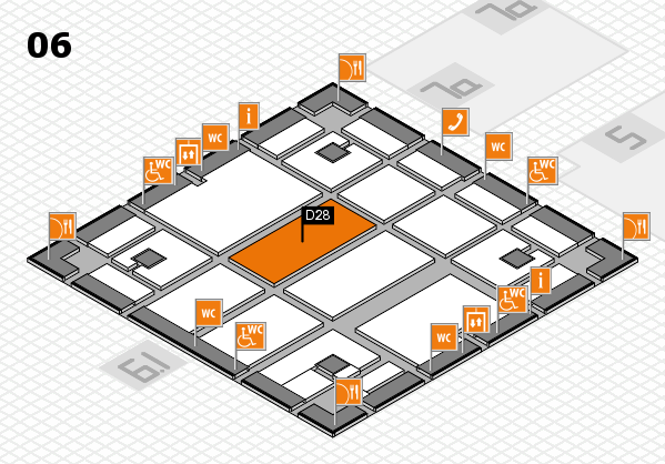 boot 2018 hall map (Hall 6): stand D28