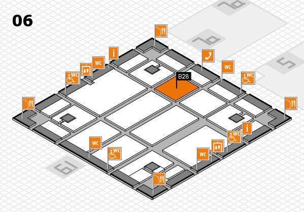 boot 2018 hall map (Hall 6): stand B28