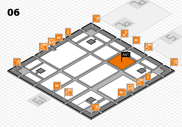 boot 2018 hall map (Hall 6): stand A41
