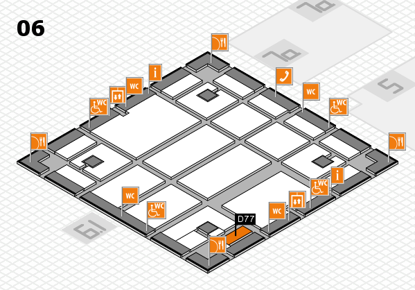 boot 2018 hall map (Hall 6): stand D77