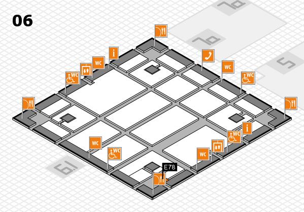 boot 2018 hall map (Hall 6): stand E78