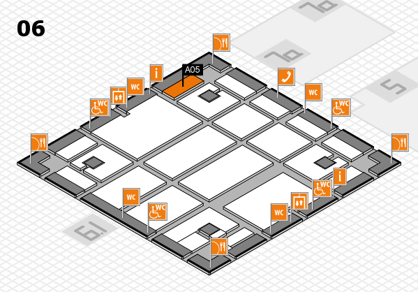 boot 2018 hall map (Hall 6): stand A05
