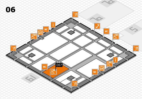 boot 2018 hall map (Hall 6): stand D57