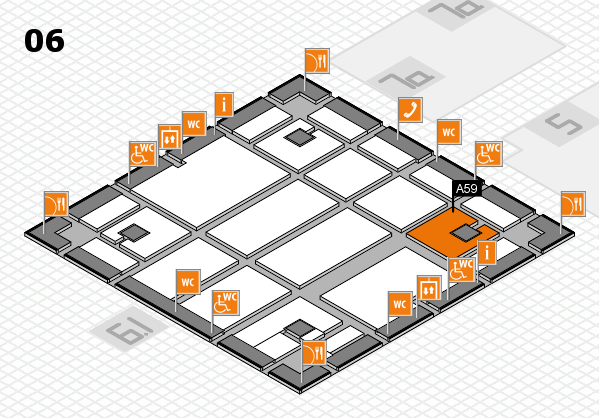 boot 2018 hall map (Hall 6): stand A59