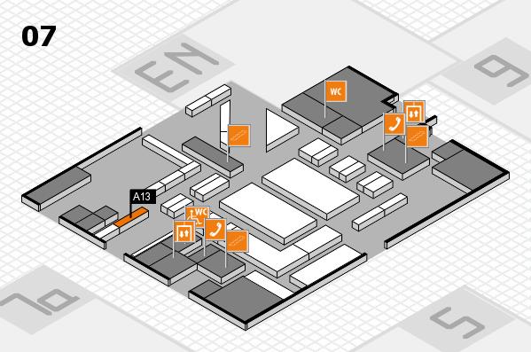 boot 2018 hall map (Hall 7): stand A13