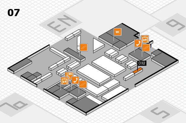 boot 2018 hall map (Hall 7): stand D32