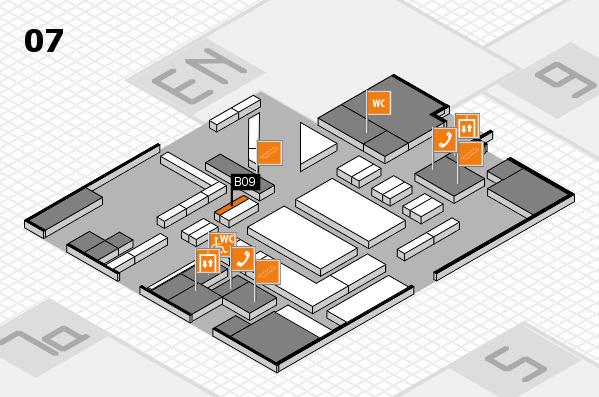 boot 2018 hall map (Hall 7): stand B09