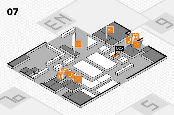 boot 2018 hall map (Hall 7): stand D25