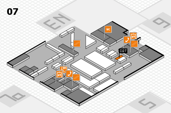 boot 2018 hall map (Hall 7): stand D27