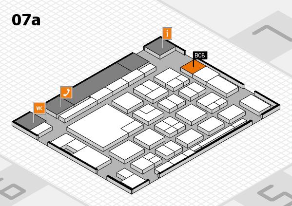 boot 2018 hall map (Hall 7a): stand B08