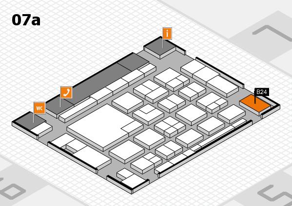 boot 2018 hall map (Hall 7a): stand B24
