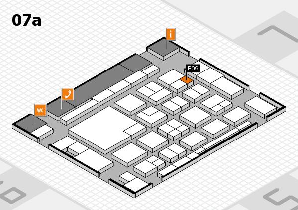 boot 2018 hall map (Hall 7a): stand B09