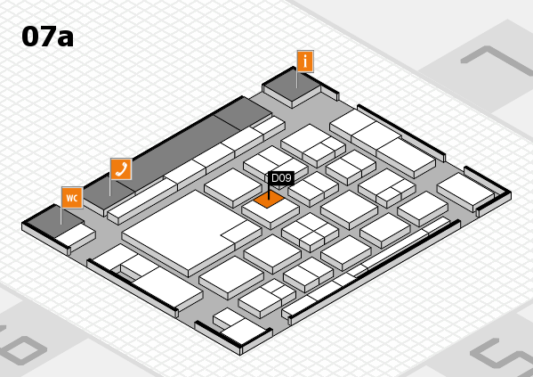 boot 2018 hall map (Hall 7a): stand D09