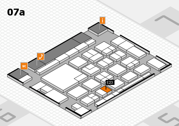 boot 2018 hall map (Hall 7a): stand E23