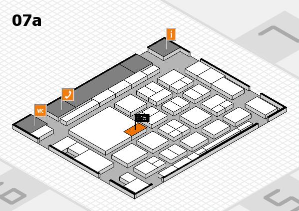 boot 2018 hall map (Hall 7a): stand E15