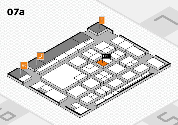 boot 2018 hall map (Hall 7a): stand D10