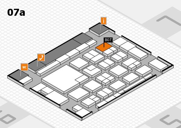 boot 2018 hall map (Hall 7a): stand B07