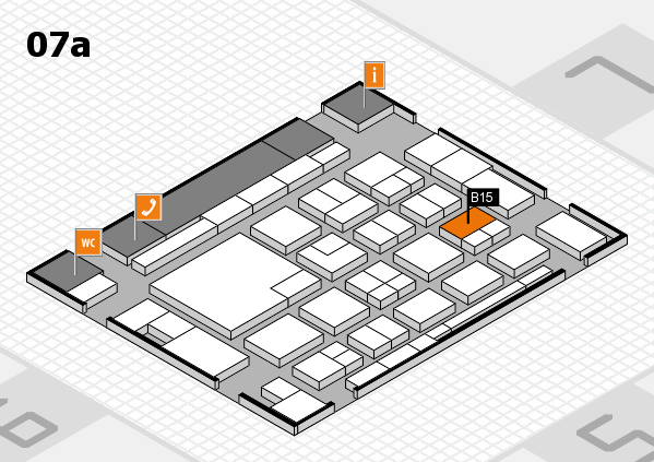 boot 2018 hall map (Hall 7a): stand B15