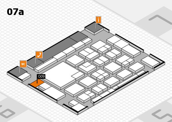 boot 2018 hall map (Hall 7a): stand G09
