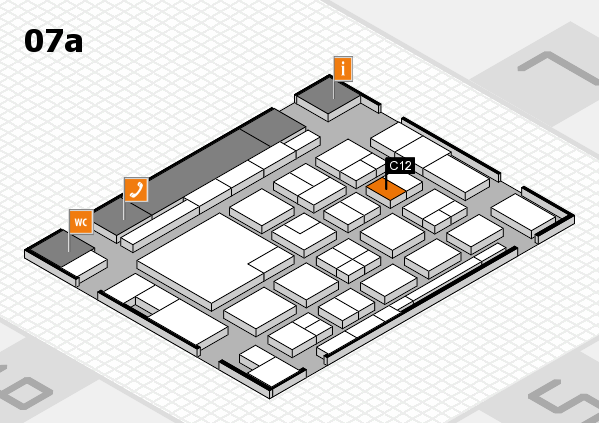 boot 2018 hall map (Hall 7a): stand C12