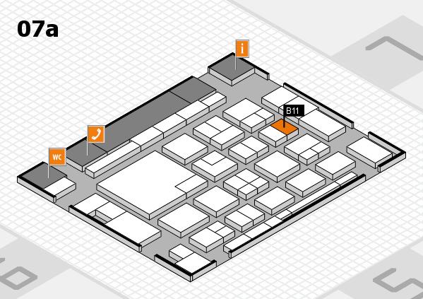 boot 2018 Hallenplan (Halle 7a): Stand B11
