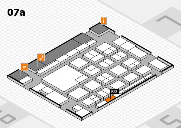 boot 2018 hall map (Hall 7a): stand F28