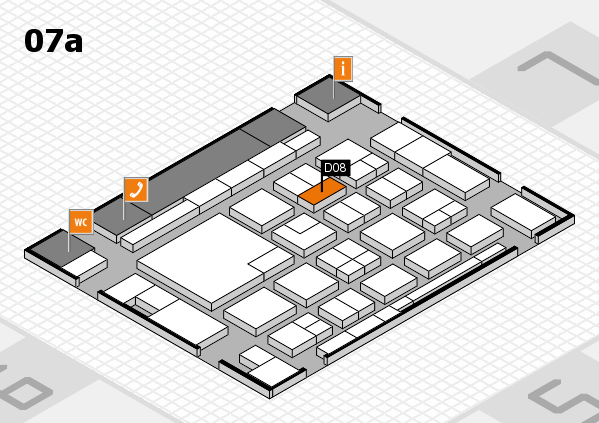 boot 2018 hall map (Hall 7a): stand D08