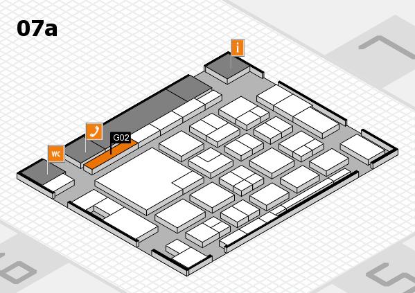 boot 2018 hall map (Hall 7a): stand G02