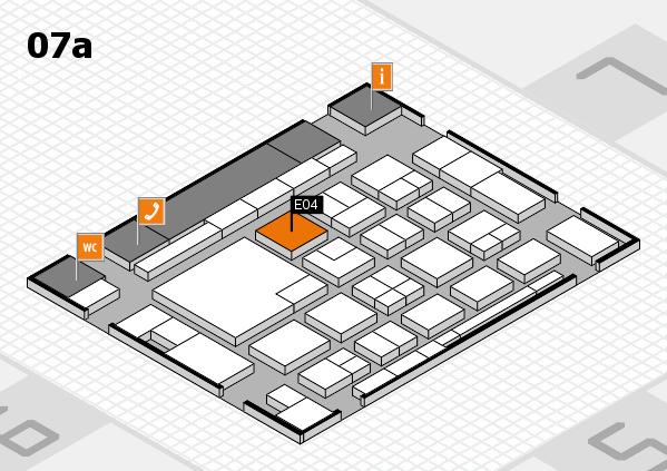 boot 2018 hall map (Hall 7a): stand E04