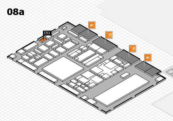 boot 2018 hall map (Hall 8a): stand E83