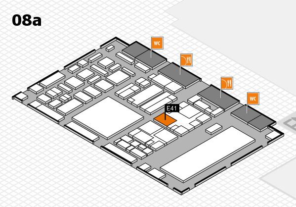 boot 2018 hall map (Hall 8a): stand E41